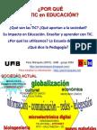 ¿Por qué las TIC en Educacion