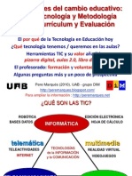 Claves del cambio educativo