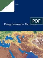 Doing Business in Abu Dhabi