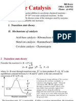 Lecture 5a Catalysis