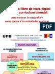 Usos del libro de texto digital en un currículum bimodal