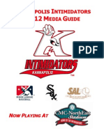 Intimidators 2012 Media Guide