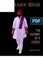 Harbhajan Singh The Journey Of A Legend by Deepak Singh released by President of India