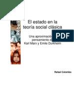El E° en la teoría social clásica