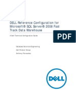 SQL Server 2008 Config Guide Fast Track Data Warehouse 2011