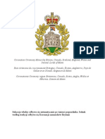 Ceremonia Koronacji Monarchów Brytanii, Kanady, Szkocji, Anglii, Walii i Irlandii.