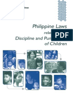 Philippines Laws Related to Discipline and Punishment of Children