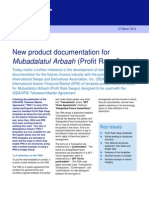 2012 Clifford Chance New Product Documentation for Profit Rate Swaps
