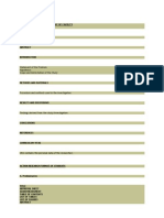 Action Research Format of Faculty