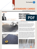 Standard Bulk Cargoes-hold Preparation and Cleaning
