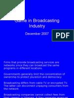 game in broadcasting industry - rino bernando