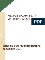 PEOPLE'S CAPABILITY MATURING MODEL(P-CMM)