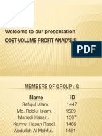Cost Volume Profit Analysis (2)