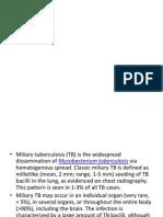 Disseminated Pulmonary TB