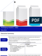 Packaging Industry in India 2011 Sample 110520080226 Phpapp01