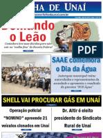 JORNAL FOLHA DE UNAÍ - EDIÇÃO 20 - ABRIL DE 2012