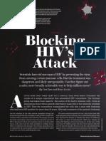 Blocking HIV Attack