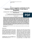 Efficiency of Different Coagulants Combination for The