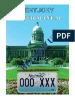 Kentucky Drivers Manual | Kentucky Drivers Handbook