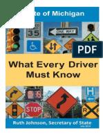 Michigan Drivers Manual   Michigan Drivers Handbook