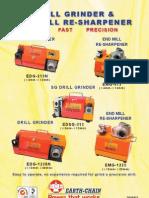 AFIADORA DE BROCAS - Manual de Instrução