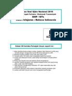 Www Masbied Com Download Soal Un Bahasa Indonesia Smp 2012