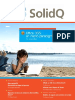 The SolidQ Journal Mayo 2011 Solo TOC Editorial y Noticias