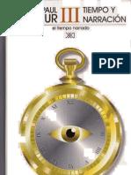 Paul Ricoeur Tiempo y Narracion III