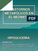 TRASTORNOS METABÓLICOS EN EL NEONATO 2