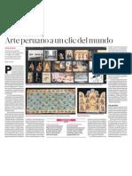 Arte Peruano a un clic del Mundo