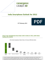 CC- India 2012 Smart Phones Outlook - 2012-02-12