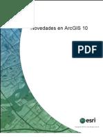 Novedades de ArcGIS 10