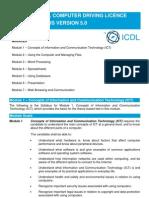 ICDL Syllabus Version 5.0