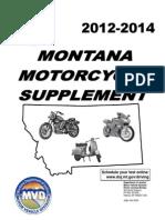 Montana Motorcycle Manual | Montana Motorcycle Handbook