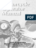 Nebraska Motorcycle Manual | Nebraska Motorcycle Handbook