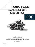 Nevada Motorcycle Manual | Nevada Motorcycle Handbook