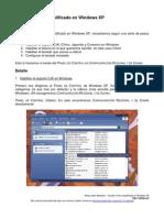 Escribir Chino Simplificado en Windows XP - MS Pinyin IME