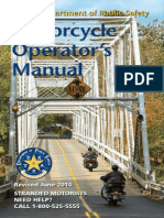 Texas Motorcycle Manual | Texas Motorcycle Handbook