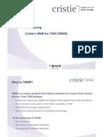 Christie - TSM Symposium TBMR_2011