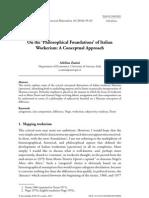 Philosophical Foundations Operaismo