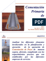 Cementacion Primaria de Pozos. Moleiro