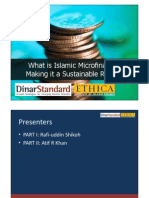 What is Islamic Micro Finance