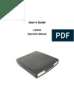LA5034 User Manual