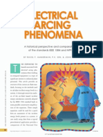Electrical Arcing Phenomena Based on IEEE 1584 & NFPA 70E