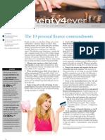 Twenty4ever, March 2012 Newsletter