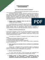 LISTA DE EXERCÍCIOS TEC SOLD I