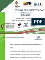 Plan_regional_de Competitividad 2008-2032 Consejo