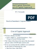 Costofcap Approach
