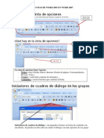 TUTORIAL DE  WORD 2007