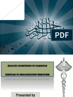 Health Care Conditions in Pakistan